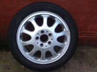 """Mercedes 16 """" alloy ! 195-59/16 Goodyear tyre"""