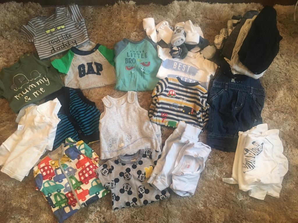 Baby boys clothes bundle upto 3months