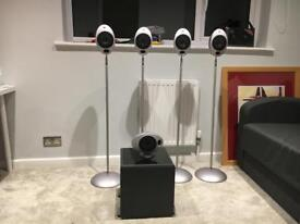 KEF 2005 speakers and DenonAmp