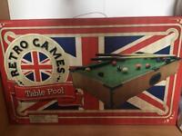 Mini table top pool