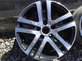 VW Golf Jetta Caddy 16 Inch Chrome Alloys