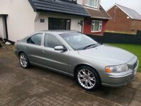 2005 Volvo S60 2.5T automatic....private plate included