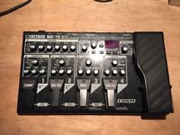 Boss ME70 multi effects boxed with PSU