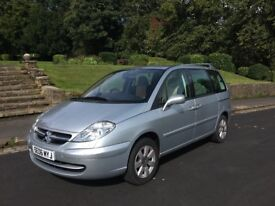 2006 citroen c8 exclsuive hdi automatic