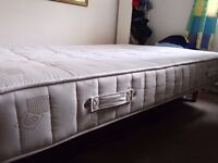 Double bed for sale (mattress and frame)