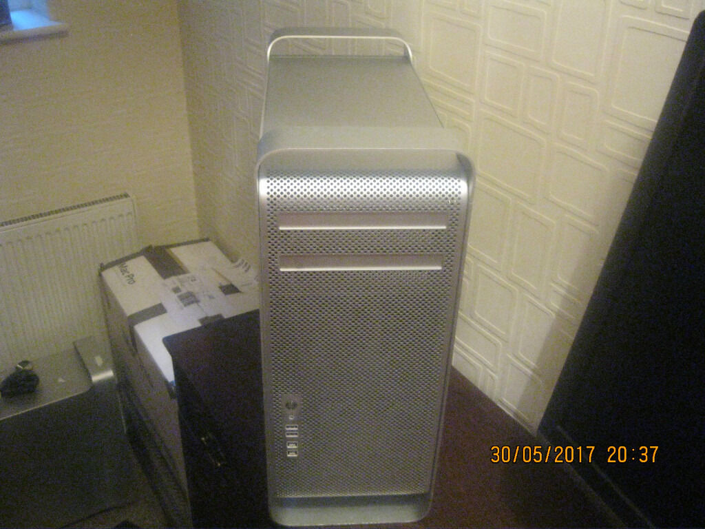 Apple mac pro 5.1 2010 3.33ghz 6 core loud fansin Bridlington, East YorkshireGumtree - Apple mac pro 5.1 2010 3.33ghz 6 core xeon cpu upgraded 1tb hd 4gb ram ati hd5770 gpu wifi and bluetooth sierra scratches to sides pictured loud fans after a cpu upgrade from the apple logo screen onwards