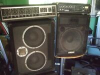 yamaha speakers and behringer