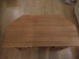 oak Corner TV Stand | Wooden TV stand
