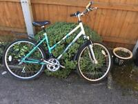 Two ladies bikes garage clear out