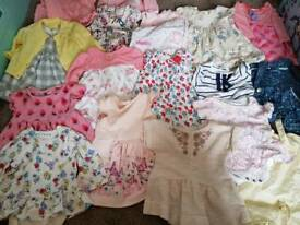 200+ Items : 0-6 Months Girls Clothes Bundle