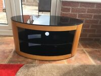 John Lewis AVF Affinity Premium Buckingham 800 Oak TV Stand.