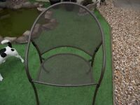 4 Kettler Patio / Garden Metal Chairs