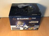 Williams f1 racing wheel for ps1 and ps2