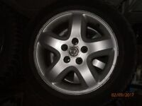 "16"" 4 Alloy Wheels 215/55 R16 fits Omega 16inch alloy 5x110"