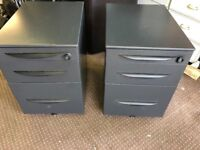 2 OFFICE FILLING CABINETS ON WHEELS ,CAN DELIVER
