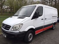 2009 MERCEDES SPRINTER 313 CDI MWB PANEL VAN (INTEGRAL) 2143ccDIESEL.BRILLIANT DRIVE.ONLY 110K MILES