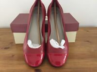 Clarks Red Shoes