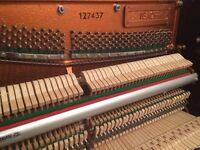 Ibach nearly new Black Gloss Modern Upright Piano