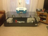 Guinea Pig Cage & All Accessories, Rabbit/Hamster/Gerbil
