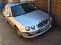 Breaking for parts 2004 Rover 25 silver colour doors bumpers bonnet and alloys