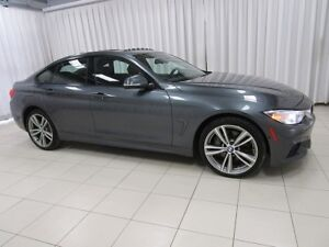 2016 BMW 4 Series 435i x-DRIVE GRAN COUPE M SPORT w/ HEAD UP DIS