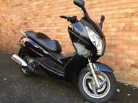 HONDA FES 125 A-C S-WING ABS 2012 BLACK