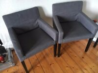 IKEA Dark Grey NILS Office Chair