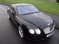 2004 BENTLEY CONTINENTAL GT AUTO 6.0 SERVICE HISTORY STUNNING CAR CHOICE OF ALLOYS LOOK