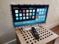 TOSHIBA 24-INCH STAR WARS Smart LED TV, built in Wifi,Freeview & FREESAT HD,Netflix,Fully Working