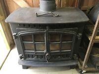 Hunter Herald dual fuel burner