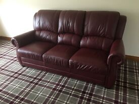 Brand new couch 100% leather