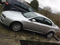 Alfa Romeo 159 JTDM 2010 2.0 litre diesel saloon, 10 months MOT