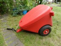 Red Mobility Scooter Trailer with Contents Included, Excellent Condition