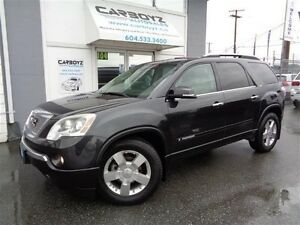 2007 GMC Acadia SLT-2 AWD, Nav, DVD, Leather, Sunroof, Heads Up