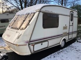 2 berth ELDDIS MISTRAL GTX with awning and extras