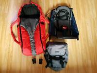Phil and teds e3 sport cocoon Second seat elbows Pannier bag accessories