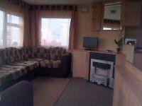 3-7 July caravan rental at Cala Gran Fleetwood for £280