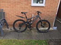 Saracen Raw2 downhill mountain bike mens