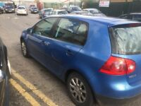 BREAKING FOR SPARES VW GOLF MK5 1.9 TDI SE 2004