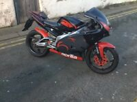 Aprilia Rs 125 learner legal 125cc motorbike 2 stroke