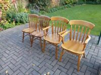 4 Kitchen or Dining Room Chairs