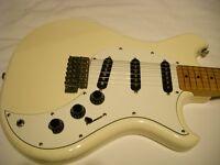Westone Concord II electric guitar - Matsumoku, japan - '80s - Off White