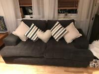 Charcoal 2 & 3 seater (like new) quick sale £100