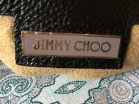 Jimmy choo suede hand bag
