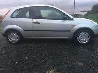 Ford Fiesta 2004 silver