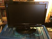 "Panasonic TX-L19C20B 19"" wide screen flatscreen LCD TV with Viera, freeview and HDMI"