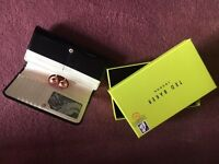 Ted Baker Patent Leather Purse, with box. Black.