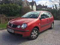 VOLKSWAGEN POLO 1.4 TWIST AUTO with F.VW.S.H (PETROL)