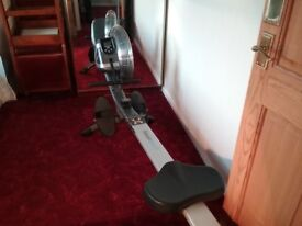 Air rowing machine BR 2700 . Digital display . Hardly used and very good condition .buyer to collrct