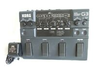 Vintage Korg G3 Guitar effects pedal very good condition